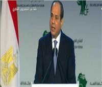فيديو| الرئيس السيسي: الفساد يقف أمام تطلعتنا لتحقيق التنمية