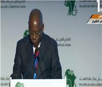 إيمانويل أودونجو: المنتدى الأفريقي فرصة لوضع ضوابط مكافحة الفساد بالقارة