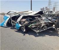 نقل بعض مصابي حادث «طريق الأوتوستراد» لمستشفي حلوان والمعادي