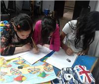 ورش فنون تشكيلية لذوى القدرات الخاصة بثقافة أحمد بهاء
