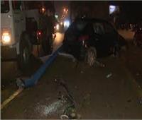مصرع وإصابة 4 أشخاص في تصادم سيارتين بالشرقية