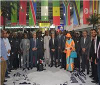صور| وصول أسود التيرنجا للمشاركة ببطولة الأمم الأفريقية