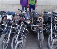 ضبط عصابة سرقة الدراجات النارية بـ«بدر»