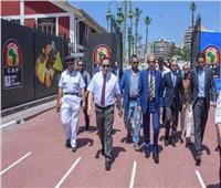 مياه الإسكندرية تستعد لبطولة الأمم الإفريقية 2019