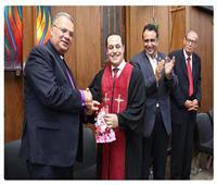 رئيس الطائفة الإنجيلية يترأس احتفالات رسامة ٥ قساوسة جدد لكنائس أسيوط والمنيا