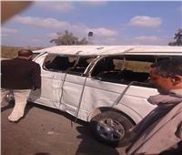 إصابة 5 أشخاص إثر اصطدام سيارة أجرة بالرصيف في كفر الدوار
