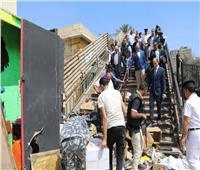 صور| محافظ الجيزة: بدء أعمال إنشاء 84 وحدة سكنية لسكان «عشش السودان»