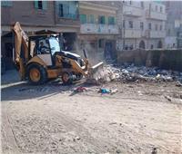 رفع 512 طن من القمامة بمحافظة سوهاج