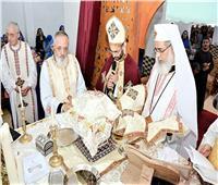مطران المنيا للكاثوليك يترأس سيامة كهنوتية جديدة