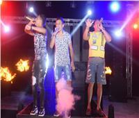 صور| حمو بيكا يُشعل حفله في الساحل الشمالي