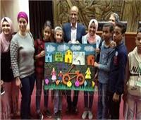 """""""قصور الثقافة"""" تواصل فعاليات الدمج الثقافي للأطفال بمجمع الأديان"""