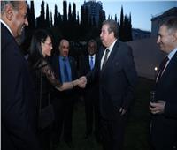 السفير المصرييستقبل مسئولينبأذربيجان في منزله..بينهمبرلمانيين|صور