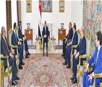تفاصيل لقاء الرئيس السيسي ووزيري الخارجية والدولة الإماراتيين