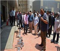 وزيرة الصحة ومحافظ بورسعيد يتفقدان خطط تشغيل مستشفيات التأمين الصحي