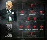 إعلان تشكيل منتخب مصر لمواجهة غينيا