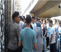 ثانوية عامة 2019| صور| بدء دخول طلاب الثانوية العامة للجان شبرا