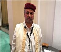 أحد مشايخ ليبيا: كلنا وراء الجيش الليبي.. ومصر «أم الدنيا» تجمعنا