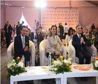 صور| وزيرة الاستثمار تفتتح خط إنتاج شركة «جلاكسو سميثكلاين كونسيومر هيلث كير»