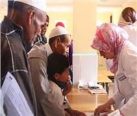 قافلة طبية لعلاج 720 مريض  بـ«بيت الخريبي» بسوهاج