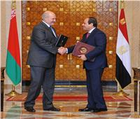 هيئة الاستعلامات: 109 ملايين دولار حجم التبادل التجاري بين مصر وبيلاروسيا