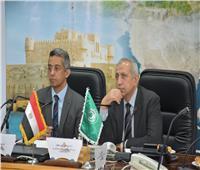 توقيع بروتوكول تعاون بين مركز المعلومات و«الأكاديمية العربية».. صور