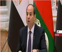 فيديو| السيسي: علاقة مصر وبيلاروسيا تتميز بالتنوع في عدة مجالات