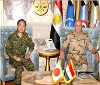 «رئيس أركان حرب القوات المسلحة» يلتقي نظيره الياباني