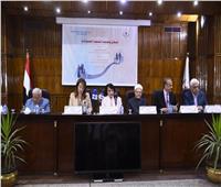 غادة والي تشهد افتتاح مؤتمر «السكان وتحديات التنمية المستدامة»