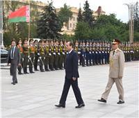السيسي يصل برلمان بيلاروسيا للقاء رئيسي الغرفة الأعلى والأدنى