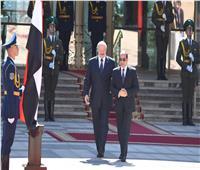 السيسي يعقد مباحثات على مستوى القمة مع رئيس بيلاروسيا