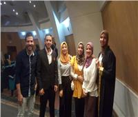 «شنطة سفر» يحصل على المركز الأول بمشاريع تخرج آداب حلوان