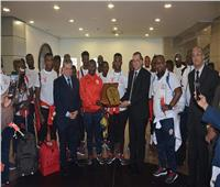 كأس الأمم الأفريقية| وصول منتخبي بوروندي وناميبيا إلى مطار القاهرة