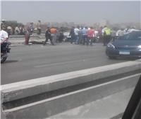 فيديو وصور| التفاصيل الكاملة للحادث المروع أعلى طريق المحور