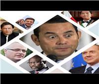 فيديو| آخرهم رئيس أوركرانيا.. فنانون ورياضيون حكموا العالم
