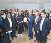 كأس الأمم الأفريقية 2019   «منتخب السناجب» يصل مطار القاهرة «صور»
