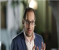 أحمد أمين: أنا ممنوع من الكلام.. وهشجع المنتخب بالإشارة