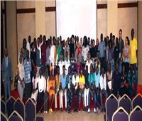 الأنبا إرميا يستقبل ١٠٠ شاب أفريقي بالمركز الثقافي القبطي الأرثوذكسي
