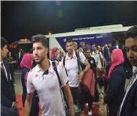 صور| وصول نسور قرطاجمطار القاهرة استعداداً لبطولة كأس الأمم الأفريقية