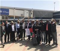 صور| وصول وزير شباب ورياضة مدغشقر إلى مطار القاهرة