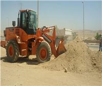 الإسكان: استمرار تنظيم رفع المخلفات والإشغالات بمدينة أسيوط الجديدة