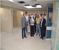 وفد من الصحة ومحافظ بورسعيديتفقدون مستشفى بورفؤاد العام