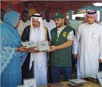 مركز الملك سلمان للإغاثة يسلم مساعدات غذائية لجمهورية تشاد والجزائر