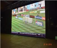 صور| بث مباريات أمم أفريقيا على شاشات عملاقة بـ«المجان» في البحر الأحمر