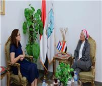 وزيرة البيئة تبحث مع سفيرة كوبا أول تعاون في مجال البيئة