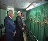 جمعة: زيارتي لقبر «الشعراوي» رد على محاولات الإساءة للرجل