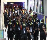 أمم إفريقيا 2019| وصول فريق زيمبابوي لاستاد القاهرة