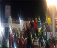 فيديو| حمو بيكا يشعل الساحل الشمالي بين شوطي مباراة مصر وزيمبابوي