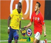 بث مباشر| مباراة تشيلي والإكوادور في كوبا أمريكا 2019