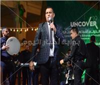 صور| «الليثي» يتألق بحفل «المنصات الرقمية».. وفرحة المصريين بالمنتخب