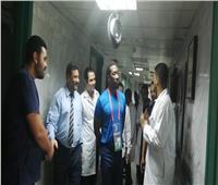 وفد من الاتحاد الأفريقي يزور مستشفى التأمين الصحي